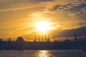 Skyline of Hamburg photo
