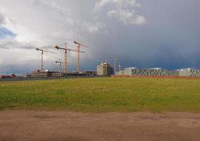 sitio de construcción en berlín foto