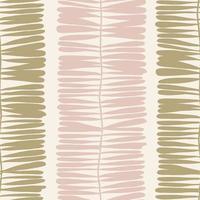 Vector contemporary modern leaf motif illustration seamless pattern