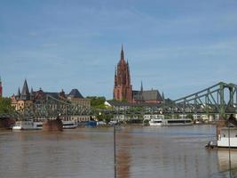 Catedral de San Bartolomé en Frankfurt. foto