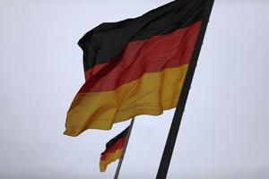 Two flags of Germany photo
