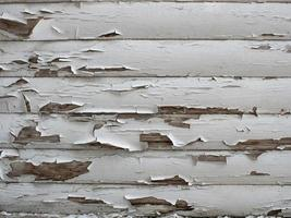 wooden texture with old white paint. white wood planks background photo