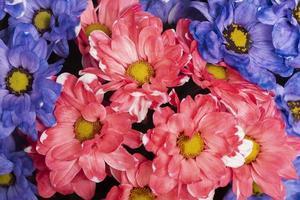 el arreglo hermoso fondo de flores foto
