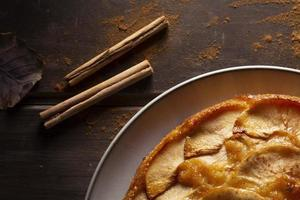 The delicious apple pie assortment photo