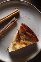 The delicious apple pie composition photo