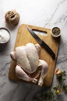The thanksgiving turkey assortment table photo