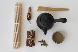 el surtido tradicional de feng shui foto