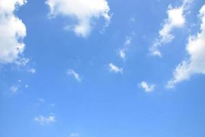 blue sky with clouds. background or wallpaper. photo