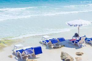 Summer vacation background photo