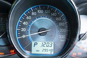 Close car dashboard photo