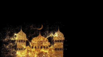 Eid Mubarak Eid-Al-Adha and Eid-Al Fitr Happy holiday. Eid mubarak video