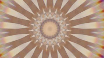Mandala abstract background, meditation magic ornate. video