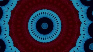 Fondo abstracto futurista. bucle de fantasía en movimiento dinámico. video