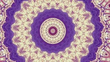 4k fondo abstracto. bucle de fantasía en movimiento dinámico. caleidoscopio. video