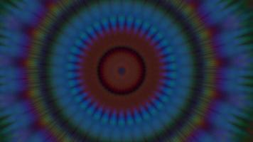 mandala abstrait, méditation magique orné. video