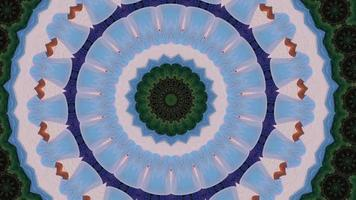 fundo abstrato futurista. loop dinâmico de fantasia em movimento. video