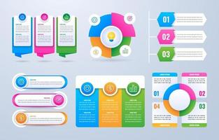 Infographic Elements for Business vector