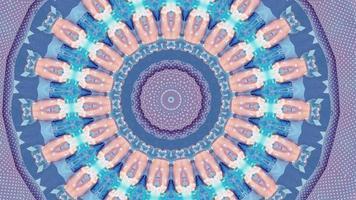 sfondo astratto futuristico. ciclo di fantasia in movimento dinamico. video