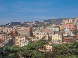 vista de Génova Italia foto