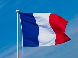 bandera francesa de francia foto