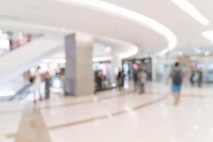 abstracto desenfoque hermoso centro comercial de lujo foto