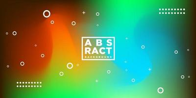 Modern Hologram Blur Colorful Abstract Background Design vector