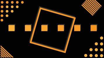 geometric black background free vector
