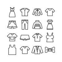 women casual clothes vector