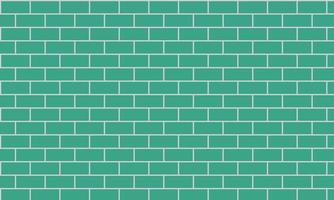 blue brick wall background vector