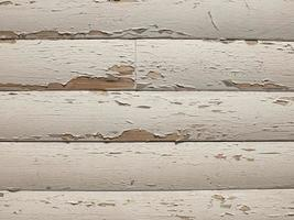 wooden texture with old white paint. wooden boards as a background photo