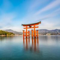 Miyajima Island, The famous Floating Torii gate photo