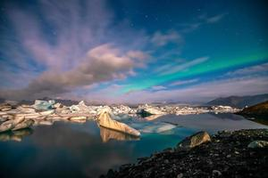 Jokulsarlon glacier lagoon, Iceland photo