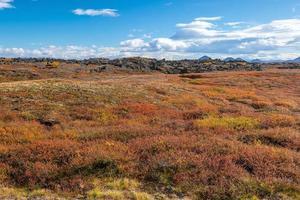 Iceland beautiful landscape, Icelandic nature landscape. photo