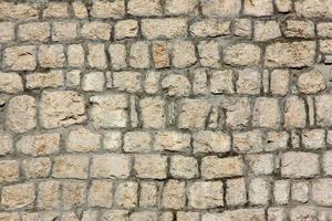 fondo de pared de piedra foto