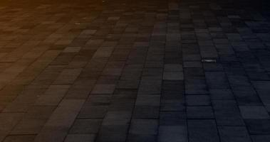 Street floor with a dark theme photo