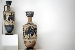 Anicent Antique Pot Historical Art Objects photo
