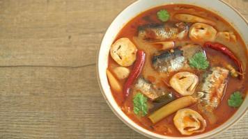 makrill i kryddig soppa video