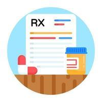 Prescription and Record vector