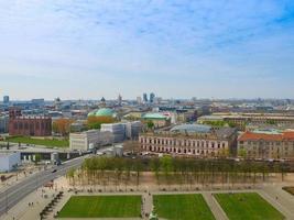 Aerial view of Berlin photo