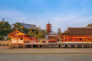 Itsukushima Shrine in Miyajima photo