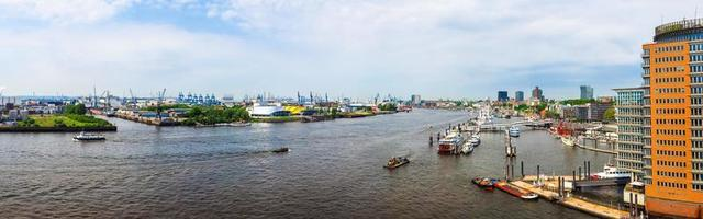 Puerto de Hamburgo en Hamburgo foto