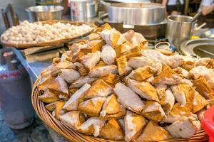 Stinky Tofu at Jiufen Old Street photo