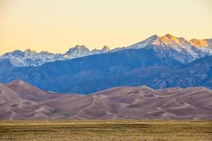 Great Sand Dunes National Park in Colorado photo