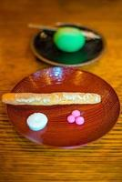 Traditional Kyoto style dessert photo