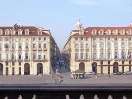 piazza castello, turín foto
