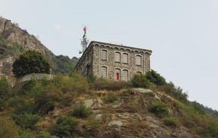 Power station in Pont Saint Martin photo