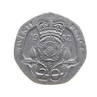 20 pence coin, United Kingdom photo