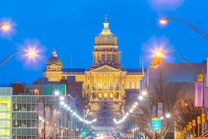 State Capitol in Des Moines, Iowa photo