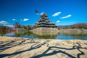 Matsumoto castle in  Japan photo