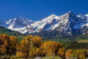Countryside fall season in Colorado, USA photo